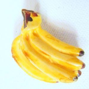 Bananas Pin Brooch